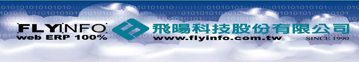 Flyinfo Web ERP簡報圖片